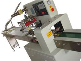 Biscuit Packing Machine with Auto Feeder
