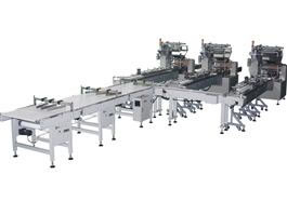 Automatic Wafer Feed Packaging Line