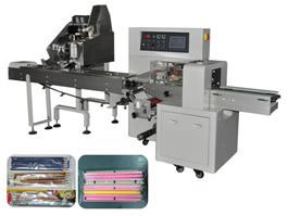 Automatic Pencil Counting and Packing Machine